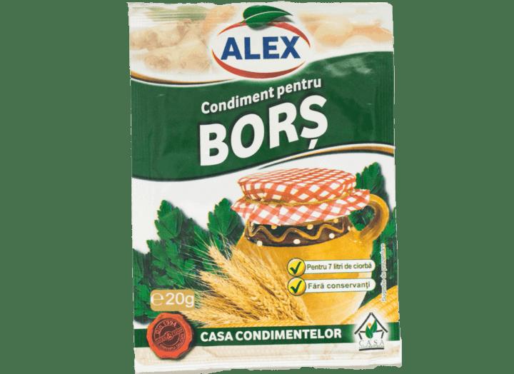 Bors Alex 20g